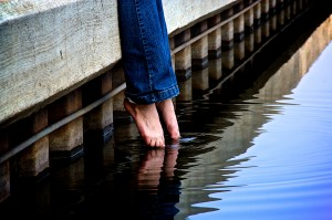 Dipping toes in the water